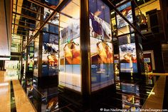 The Gorgeous Lobby of the Cosmopolitan Hotel and Casino on the Las Vegas Stip