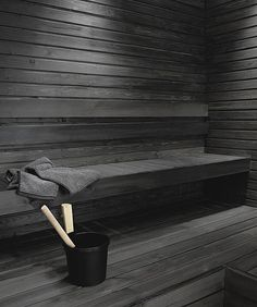 Shou Sugi Ban is the Most Gorgeous Way to Waterproof Wood Furniture Scandinavian Saunas, Scandinavian Style Home, Bathroom Design Inspiration, Design Ideas, How To Waterproof Wood, Outdoor Sauna, Sauna Design, Scandi Chic, Spa Rooms