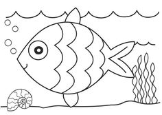 fish coloring pages - Color Sheets For Preschoolers