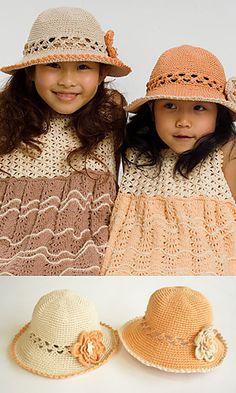 Ravelry: 210-24 Summer Hat pattern by Pierrot (Gosyo Co., Ltd)