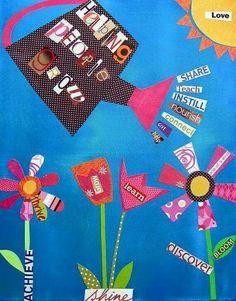 Cute Spring bulletin board