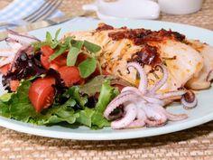 Receta | Calamar con ajada de ñoras y orégano - canalcocina.es