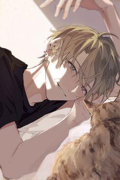 Hot Anime Boy, Anime Boys, Blonde Anime Boy, Cool Anime Guys, Handsome Anime Guys, Cute Anime Character, Character Art, Blonde Anime Characters, Manga Art