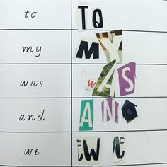 Learning our high frequency words by cutting out letters from magazines and sticking them in the correct order. A favourite activity this week in reading groups! 📰  -  -   #franklyteaching #iteachtoo #iteachk #aussieteachertribe #aussieteachers #teacher #teachersofig #iteachprep #primaryschool #teachersfollowteachers #readinggroups #learningtoread