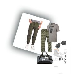 """""""Untitled #18"""" by ali-sifet-r ❤ liked on Polyvore featuring Michael Kors, BUSCEMI, Abercrombie & Fitch, G-Star Raw, NIKE, men's fashion and menswear"""