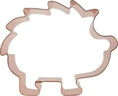 CopperGifts: Hedgehog Cookie Cutter