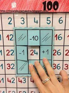 Hundred field sums - Math Math Classroom, Kindergarten Math, Teaching Math, Montessori Math, Homeschool Math, Homeschooling, Math Numbers, 1st Grade Math, Math For Kids