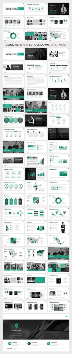 Fox Minimal Powerpoint Template  Cool Powerpoint Templates