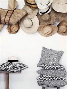 love the hats! Cute idea!