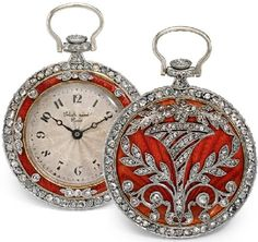 Love the red! Watches 1900