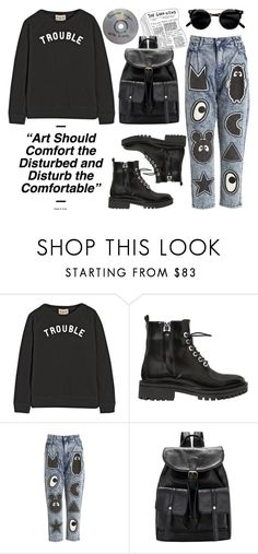 """""""I shut my eyes and all the world drops dead"""" by liquidvisions ❤ liked on Polyvore featuring Sea, New York, Kendall + Kylie, Mini Cream and vintage"""