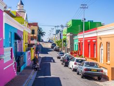 The Bo Kaap neighbourhood is a good place to do a Cape Malay cooking class