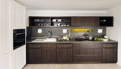nice lines frame - compact kitchen