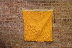 Vintage Nautical Flag / Maritime Signal Flag  by DelveChicago, $84.00