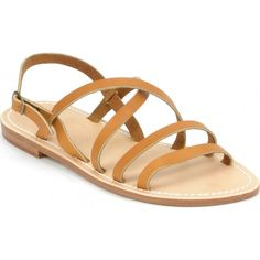 Sandales cuir Bastille