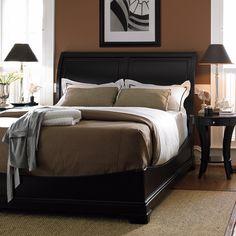 Bob mackie home signature sleigh bedroom set american - Bob mackie discontinued bedroom furniture ...