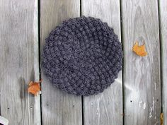 Trinity Stitch How To. Plus free beret pattern by Breadnbadger.