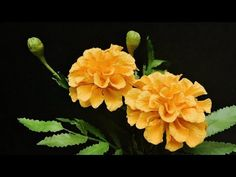 Giant Flowers, Faux Flowers, Diy Flowers, Fabric Flowers, Crepe Paper Flowers Tutorial, How To Make Paper Flowers, Tissue Paper Flowers, Crepe Paper Crafts, Diy Paper