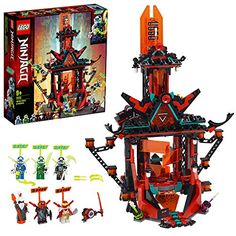 LEGO 71712 Ninjago Empire Temple of Madness Building Set with Six Minifigures Lego Ninjago, Ninja Lego, Empire, Most Popular Kids Toys, Jurassic World T Rex, Construction Lego, Le Weekend, Lego Craft, Buy Lego