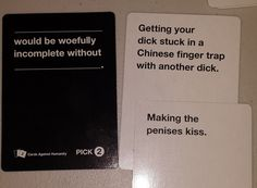 My favorite Cards Against Humanity combo yet. Stupid Memes, Funny Jokes, Funniest Cards Against Humanity, Funny Images, Funny Pictures, Offensive Humor, Funny Pins, Funny Stuff, College Humor