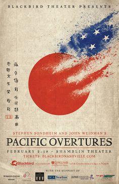 Poster for Pacific Overtures.