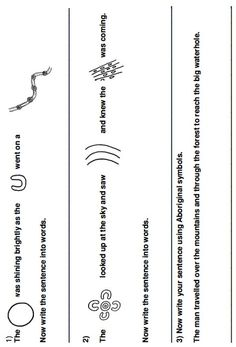 Tell An Aboriginal Story Activity Part 2 Aboriginal Art Symbols, Aboriginal Art For Kids, Aboriginal Dreamtime, Aboriginal Education, Aboriginal History, Aboriginal Culture, Teachers Aide, Teacher Education, Lessons For Kids