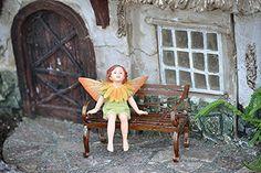 Miniature Fairy Garden Marigold Fairy ** See this great image  : Gardening Supplies