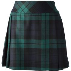 MOSCHINO tartan skirt ($767) ❤ liked on Polyvore featuring skirts, bottoms, moschino, saia, blue skirt, blue plaid skirt, print skirt and blue print skirt