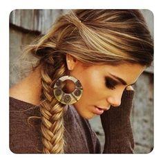 Side ponytail