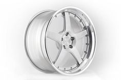 ADV5TF TRAKfunction 3 Piece Forged Wheel in Brushed face polished step lip