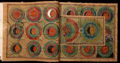 Dmitry Babenko / Artist Book - fabulous hand-painted astronomy text