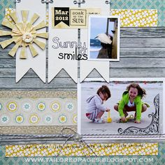 @Tracey Taylor created this wonderful layout using SRM Stickers and Twinery twine.  Want to win some of both?  Check out the SRM Blog:  www.srm-stickrs.blogspot.com