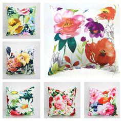 Floral Pillow Cover, Pillow, Pillow Cover, Throw Pillow, Decorative Pillow, Decorative throw pillows, Outdoor pillows, Cushion, Pillow case