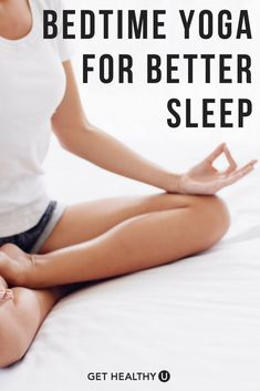 Check out our best yoga poses for better sleep! Yoga is a great way to improve your quality of sleep and ability to fall asleep! #sleep #bettersleep #yogaforsleep #yoga #bedtimeyoga #sleeping