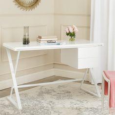 Safavieh Watkins Writing Desk & Reviews | Wayfair