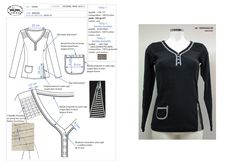 Elodie Aubry, Styliste / Infographiste Textile Portfolio : Prêt-à-Porter Féminin