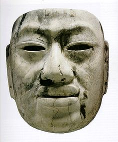 Olmec mask.