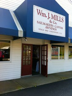 Wm. J. Mills & Co. of Greenport - home of the grooviest canvas bags  Love these bags!