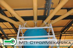 """Screw conveyors ARMATA on the production area of the company LLP """"SICA KAZAKHSTAN"""" in the composition of plant dry mixtures TURBOMIX production MP #StroyMehanika"""