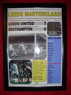 Leeds United 7 Southampton 0 - 1972 - framed print Lilywhite Multimedia http://www.amazon.co.uk/dp/B00XWOWKK4/ref=cm_sw_r_pi_dp_utImwb0HQVN5J