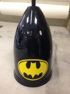 Batman Toilet Brush Cleaner By VSLSigns On Etsy, $10.00