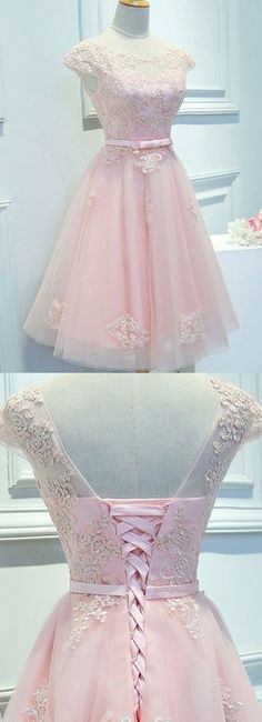 Short Prom Dresses, Lace Prom Dresses, Pink Prom Dresses, Prom Dresses Short, Custom Prom Dresses, Knee Length Homecoming Dresses, Short Sleeve Prom Dresses, Lace Homecoming Dresses, Prom Short Dresses, Short Homecoming Dresses, Knee Length Dresses, Pink Lace dresses, Lace Up Prom Dresses, Applique Prom Dresses, Knee-length Homecoming Dresses, Cap Sleeve Homecoming Dresses