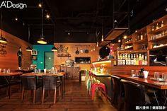 復古創意繽紛餐廳 展演萬種風情 | 美家空間設計_雷開明 _室內設計師 | 愛設計A+Design線上誌 - 室內設計平台