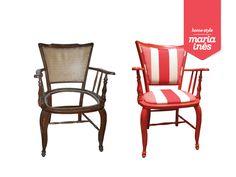 Cadeira Closet. Reciclagem para Cliente.