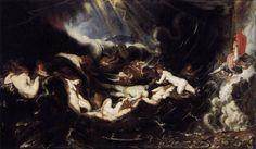Ηρώ και Λέανδρος. (1605)