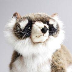 Hansa Standing Raccoon