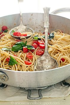 1000 images about food pasta tomato on pinterest Ina garten capellini with tomatoes and basil