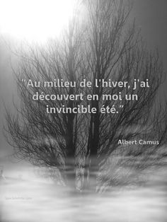 Have I?  Camus