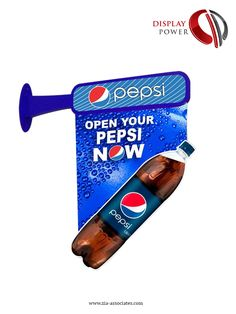 Pepsi Out-Shop Availability Sign (different Artwork); Designed & Produced by Display Power Global- Pakistan.