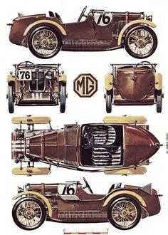 1930 MG Midget 'M' Type.: